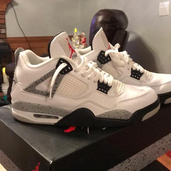 Jordan Shoes | Jordan Retro 4 White